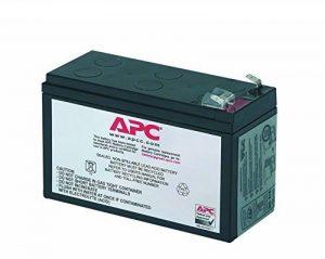 APC APCRBC106 - Batterie de remplacement pour APC Back-UPS 400VA de la marque APC image 0 produit