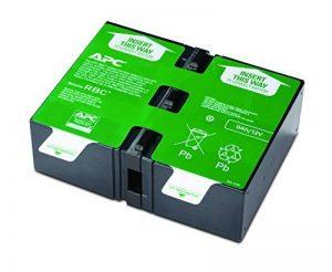 APC APCRBC124 Batterie de Remplacement pour Onduleur APC – BR1200GI, BR1200G-FR, BR1500GI, BR1500G-FR de la marque APC BY SCHNEIDER ELECTRIC image 0 produit