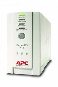 APC Back-UPS BK 650 - Onduleur 650VA, BK650EI - 4 Prises IEC de la marque APC BY SCHNEIDER ELECTRIC image 0 produit