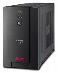 APC Back-UPS BX 1400 - Onduleur 1400VA, BX1400UI - AVR - 6 Prises IEC C13, USB, Logiciel d'arrêt de la marque APC BY SCHNEIDER ELECTRIC image 0 produit