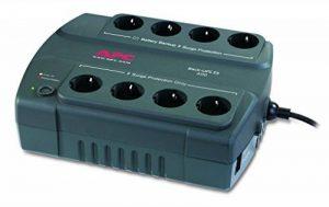 APC Back-UPS ES 400 Onduleur CA 230 V 240 Watt 400 VA 8 connecteurs de sortie de la marque APC image 0 produit