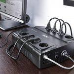 APC Back-UPS ES 400 Onduleur CA 230 V 240 Watt 400 VA 8 connecteurs de sortie de la marque APC image 3 produit