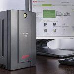 APC Back-UPS Interactivité de ligne 700VA Tour Noir alimentation d'énergie non interruptible - Alimentations d'énergie non interruptibles (700 VA, 390 W, 140 V, 300 V, 50/60, 273 J) de la marque APC image 2 produit