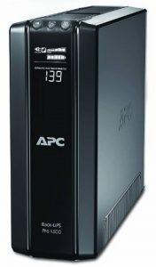 APC Power-Saving Back-UPS PRO - Onduleur 1500VA, - BR1500G-FR - AVR, 6 Prises FR, USB, Logiciel d'arrêt de la marque APC BY SCHNEIDER ELECTRIC image 0 produit