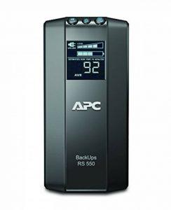 APC Power Saving Back-UPS PRO - Onduleur 550VA, BR550GI - AVR - 6 Prises IEC C13, USB, Logiciel d'arrêt de la marque APC BY SCHNEIDER ELECTRIC image 0 produit