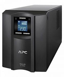 APC Smart-UPS SMC - Onduleur 1000 VA - SMC1000I - Line-interactive, Régulateur automatique de tension (AVR), 8 Prises IEC-C13, Logiciel d'arrêt de la marque APC BY SCHNEIDER ELECTRIC image 0 produit