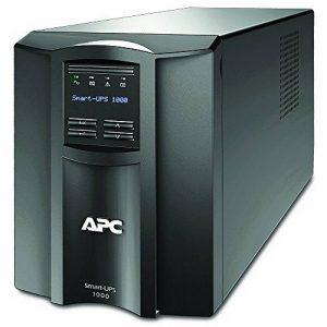 APC Smart-UPS SMT - Onduleur 1000 VA - SMT1000I - Line-interactive, Régulateur automatique de tension (AVR), Écran LCD, 8 Prises IEC-C13, Logiciel d'arrêt de la marque APC BY SCHNEIDER ELECTRIC image 0 produit