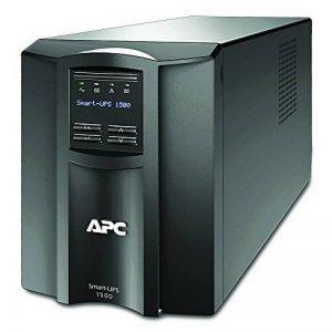 APC Smart-UPS SMT - Onduleur 1500 VA - SMT1500I - Line-interactive, Régulateur automatique de tension (AVR), Écran LCD, 8 Prises IEC-C13, Logiciel d'arrêt de la marque APC BY SCHNEIDER ELECTRIC image 0 produit