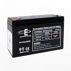 Batterie au ploMB étanche 12Ah EnergyTeam 6 V de la marque Energyteam image 0 produit