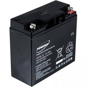 Batterie gel-plomb Powery 12V 18Ah, 12V, Lead-Acid [ Batterie au plomb ] de la marque Batterie-Fr image 0 produit