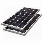 Biard Panneaux Solaires Photovoltaïques 2x100W - Câbles et Supports Triangulaires Ajustables Fournis - Régulateur de Charge Non Waterproof de la marque Biard image 1 produit