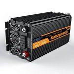 Convertisseur pur sinus 12v 220v onduleur 1000 2000w ecran LCD transformateur de tension de la marque Generic image 1 produit