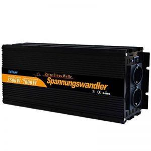 Convertisseur pur sinus 3500 7000w onduleur 12V à 220V onde sinusoïdale pure power inverter de la marque Generic image 0 produit