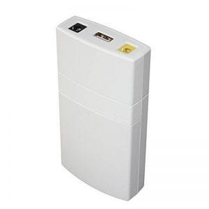 Docooler GM322 Mini USB Alimentation Protection Chargeur 7800MAH DC Power Bank Alimentation Portable pour 12V 2A Applications Protection Blanc de la marque Docooler image 0 produit