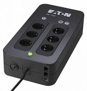 EATON 3S 700 Onduleur/multiprise parafoudre, 6 prises Schuko de la marque Eaton image 0 produit