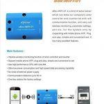 EBox-WIFI-01 Boîte WIFI RS485 à WIFI Adaptateur Bluetooth Communication Surveillance sans fil par téléphone portable APP pour Solar Controller Tracer Série A Tracer-BN Series(Wifi) de la marque Qaurora image 3 produit