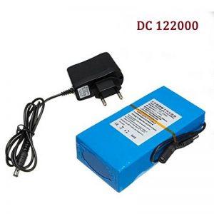 Haute qualité DC 12V Strong 20000MAH DC 122000 Batterie Li-ion rechargeable puissante pour caméra CCTV Transmetteur sans fil de la marque Eleoption image 0 produit