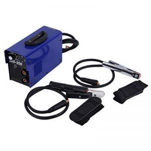 Homgrace Poste à souder Inverter MMA -200,Soudage Electrique,Soudure à Air Chaud Ménager Portable,Soudage Onduleur, machine de soudure électrique d'IGBT, commande de PWM, 220V, 10-200A, soudeur Combinaison (ZX6-200) de la marque Homgrace image 0 produit