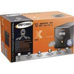 Infosec X3 EX Onduleur 1200 VA 4 Prises Schuko-FR RJ11-45 LCD USB Noir de la marque Infosec image 2 produit