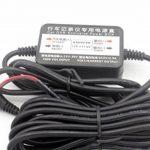 LoongGate 12V / 24V à 5V 2.5A abaisseur convertisseur Buck Module - Micro USB alimentation voiture chargeur adaptateur onduleur - câble de câblage caché pour DVR caméra enregistreur GPS - 3.2 mètres (10.5 pieds) de la marque LoongGate image 1 produit