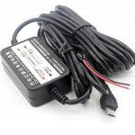 LoongGate 12V / 24V à 5V 2.5A abaisseur convertisseur Buck Module - Micro USB alimentation voiture chargeur adaptateur onduleur - câble de câblage caché pour DVR caméra enregistreur GPS - 3.2 mètres (10.5 pieds) de la marque LoongGate image 3 produit