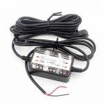 LoongGate 12V / 24V à 5V 2.5A abaisseur convertisseur Buck Module - Mini USB angle droit chargeur d'alimentation voiture adaptateur onduleur - câble de câblage caché pour DVR caméra enregistreur GPS - 3.2 mètres (10.5 pieds) de la marque LoongGate image 3 produit