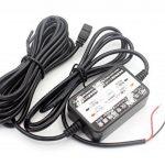 LoongGate 12V / 24V à 5V 2.5A abaisseur convertisseur Buck Module - Mini USB angle droit chargeur d'alimentation voiture adaptateur onduleur - câble de câblage caché pour DVR caméra enregistreur GPS - 3.2 mètres (10.5 pieds) de la marque LoongGate image 4 produit