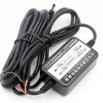 LoongGate 12V / 24V à 5V 2.5A Convertisseur Buck Module - DC 3.5 rond chargeur d'alimentation voiture adaptateur onduleur - câble de câblage caché pour DVR caméra enregistreur GPS - 3.2 mètres (10.5 pieds) de la marque LoongGate image 3 produit