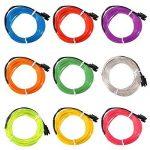 MASUNN 2 M Simple Couleur 5 V Usb Flexible Neon El Wire Lumière Dance Party Decor Lumière-Rouge de la marque MASUNN image 3 produit