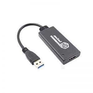 Mini Transverter USB 3.0 USB 2.0 Adaptateur HD Carte graphique externe Convertisseur Audio Converter LUFA de la marque LUFA image 0 produit