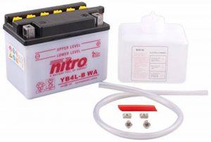 NITRO YB4L-B WA -N- Batterie Moto Ouvert avec Pack Acide de la marque Nitro image 0 produit