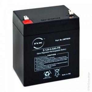 NX - Batterie plomb AGM S 12V-4.5Ah FR 12V 4.5Ah T1 - Unité(s) de la marque NX image 0 produit