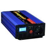 Onduleur 1200 2500W convertisseur de tension 12V 230V onde sinusoïdale modifiée LCD de la marque Generic image 1 produit