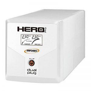 Onduleur Hero Pro Dual Plug 1200 - Infosec de la marque Infosec image 0 produit