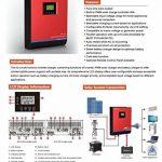 Onduleur multifonction onde pure 3 en 1 3000 VA/24 V/50 A/Chargeur 30 A de la marque Desconocido image 2 produit