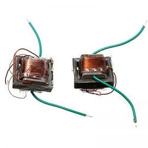 G/én/érateur /à Haute Tension DC3.6V//4.8V//6V//12V Entr/ée Module DC 3kV-11kV Sortie G/én/érateur de Transformateur dImpulsions /à Arc /Électrique pour Step-up
