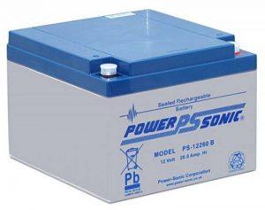 Power Sonic ps12260b/12V 26Ah AGM Batterie au plomb Batterie VDS de la marque Powersonic image 0 produit