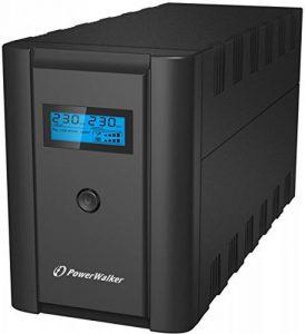 PowerWalker VI 2200 LCD/IEC Interactivité de ligne 2200VA 6sortie(s) CA Mini Tour Noir alimentation d'énergie non interruptible - Alimentations d'énergie non interruptibles (2200 VA, 1200 W, 170 V, 280 V, 230 V, 230 V) de la marque PowerWalker image 0 produit