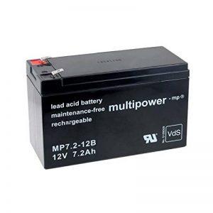 Powery Batterie rechargeable de remplacement pour USV APC Back-UPS ES 700, 12V, Lead-Acid [ Batterie au plomb ] de la marque Batterie-Fr image 0 produit