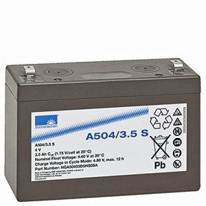 Sonnenschein - Batterie plomb Gel Sonnenschein 4V 3.5Ah A504/3.5S - A504/3.5S de la marque Sonnenschein image 0 produit