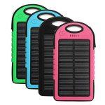Tutoy 4000Mah Solar Led Portable Dual Usb Power Bank Chargeur De Batterie Externe Boîtier Boîte - Bleu de la marque Tutoy image 3 produit