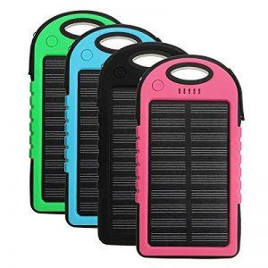 Tutoy 4000Mah Solar Led Portable Dual Usb Power Bank Chargeur De Batterie Externe Boîtier Boîte - Vert de la marque Tutoy image 0 produit