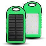 Tutoy 4000Mah Solar Led Portable Dual Usb Power Bank Chargeur De Batterie Externe Boîtier Boîte - Vert de la marque Tutoy image 2 produit