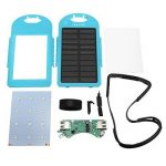 Tutoy 4000Mah Solar Led Portable Dual Usb Power Bank Chargeur De Batterie Externe Boîtier Boîte - Vert de la marque Tutoy image 4 produit