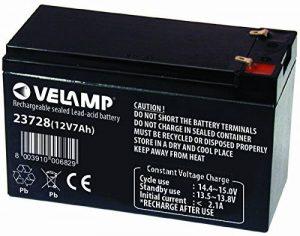 Velamp Batterie au Plomb 12 V 7 AH 2,02 kg de la marque VeLamp image 0 produit