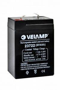Velamp Batterie au Plomb 6 V 4 AH 0,7 kg de la marque VeLamp image 0 produit