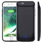 Vobon Coque Batterie iPhone 6/6S, 5000mAh Coque Chargeur de Protection Batterie Externe Magnétique Portable Rechargeable pour Apple iPhone 6/6S [4.7 Pouces] (Noir) de la marque Vobon image 0 produit