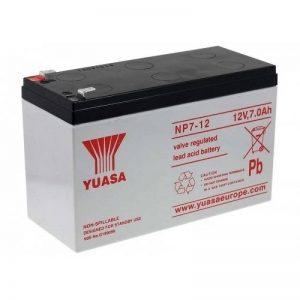 YUASA replacement Batterie pour chaises roulantes, véhicules électriques scooter électriques, véhicule pour enfants 12V 7Ah, 12V, Lead-Acid [ Batterie au plomb ] de la marque Yuasa image 0 produit